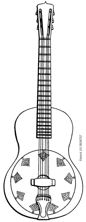 Singlecone-Resonator von Beauchamp (2. Patent)