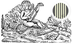 Gitarre spielender Engel (Bortolazzi)