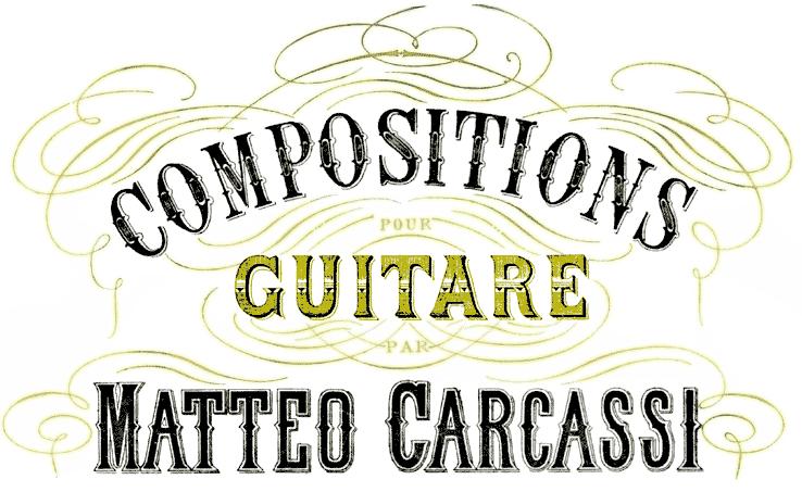 Gitarren-Kompositionen Matteo Carcassi