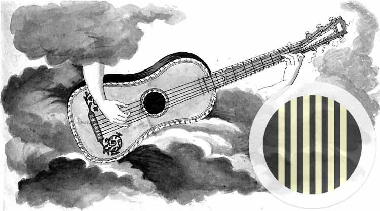 Guitarre um 1830